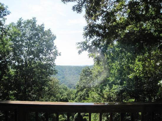 Ridge Top Resort and Chapel: View off the back deck