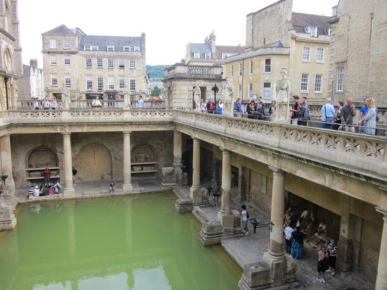 Бат, UK: The Roman Baths
