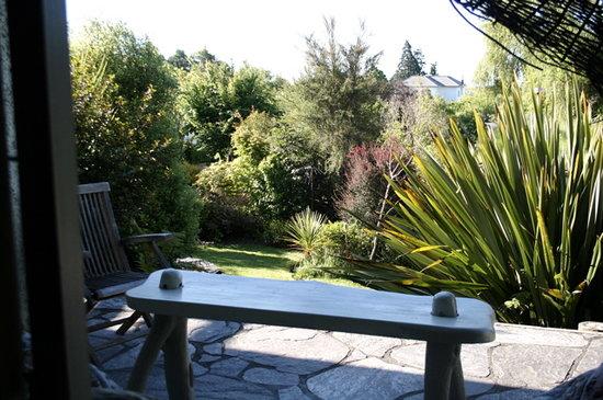 Joya Garden & Villa Studios: villa studio terrace
