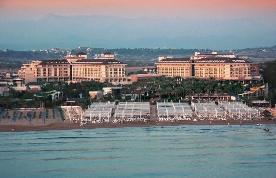 Kumkoy Beach Resort & Spa: Luftbild