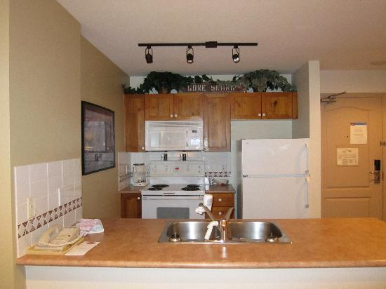Whistler Town Plaza Suites: kitchen