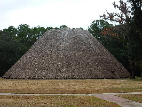 Mission San Luis de Apalachee: Meeting lodge