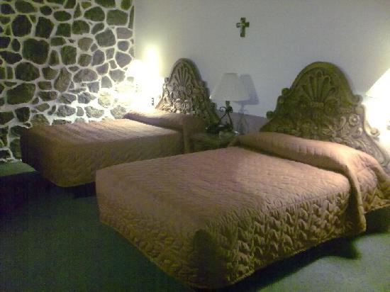 Posada de la Aldea: Queen beds