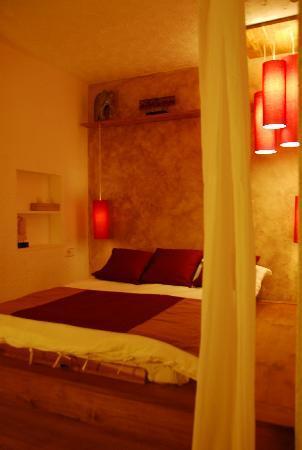 La Masía de Formentera: habitacion
