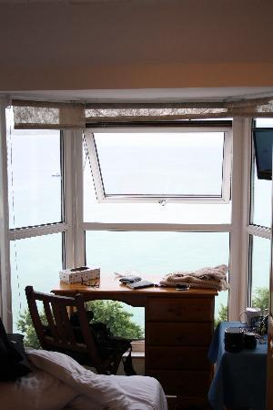 Carlyon Guest House: View, Window