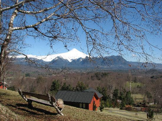 Mirador Los Volcanes: Vista a Volcán Villarrica