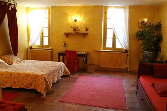 Les Florentines : La chambre Jonquille