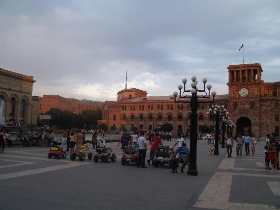 Yerevan, Armenien: Main Square