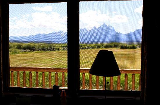 Moose Head Ranch: View from our cabin