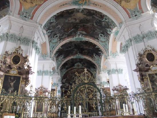 St. Gallen, Schweiz: 細やかで美しい装飾