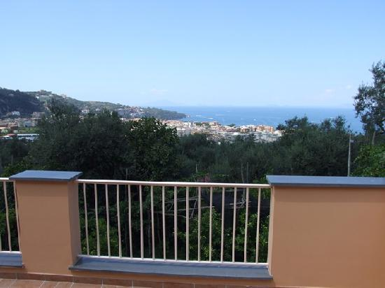 View from the top terrace