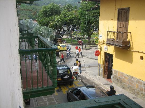 Mansion del Parque: view from balcony