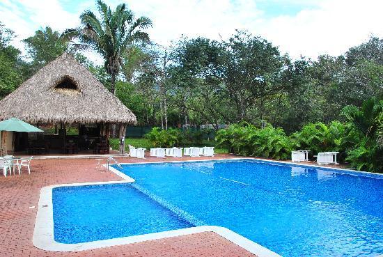 Pool Mit Freizeithaus Picture Of Hotel Leyenda Playa Carrillo