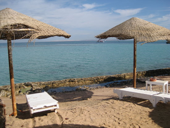 DaVinci Hotel & Resort: The private beach