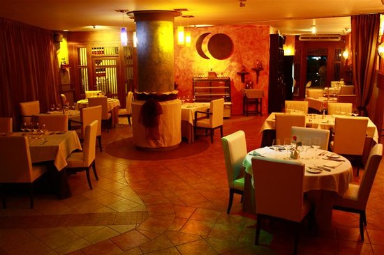 La Luna Restaurant : sala interna