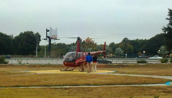 Air Florida Helicopter Inc.: One of the helicopters