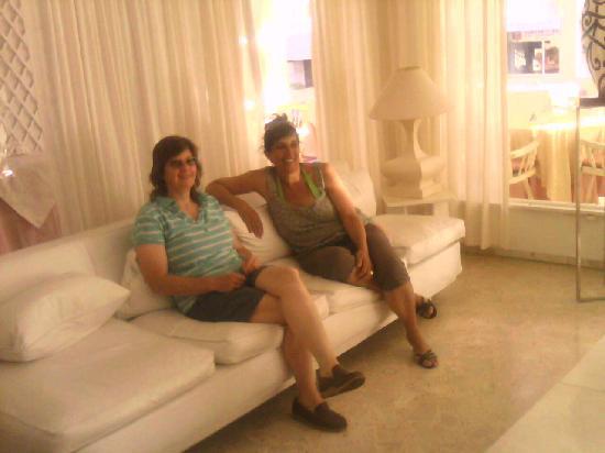 Hotel Americana: en el lobby