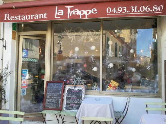 La Tappe : façade du restaurant