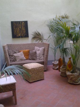 Residenza D'Epoca Puccini : giardino d'inverno