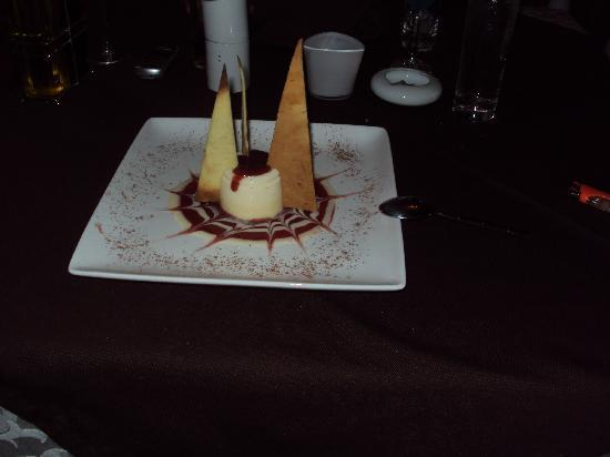 Las Canas: beautiful and delicious dessert from the cook Luciano;-)
