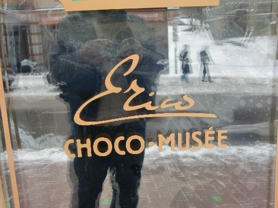Tours Voir Quebec: chocolate store - last stop on the tour
