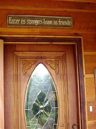 Aska Lodge B&B: Nothing was truer