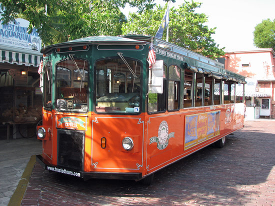 Old Town Trolley Tours Key West : Our Trolley