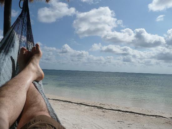 Balamku Inn on the Beach: ah.....