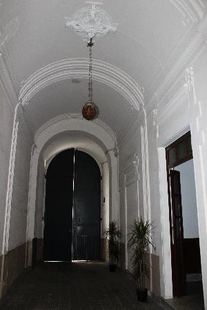 Antiche Volte: The entrance of the palace