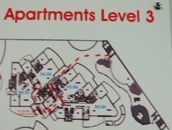 Piermonde Apartments: 間取り図です