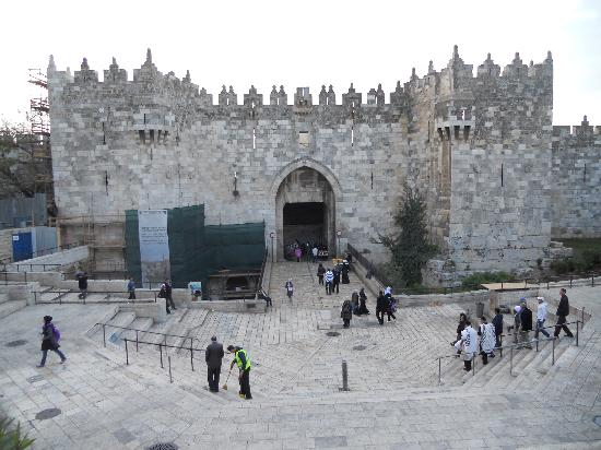 Damascus (Shechem) Gate: Damascus Gate: day view