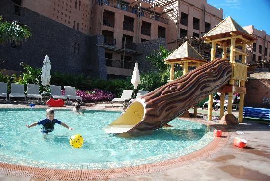 Alvorlig Children area pool 28g - Picture of Lopesan Baobab Resort FC-87