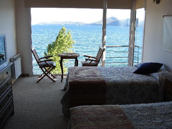 Apart Hotel Cabanas Balcon al Lago: Vista inmejorable desde la Suite