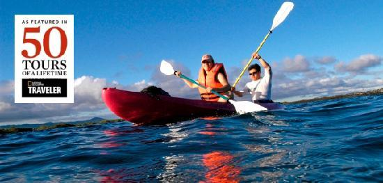 San Cristobal, Equador: Amazing sea kayaking!