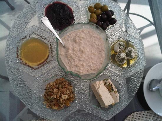 Beit Zafran Hotel de Charme: Breakfast