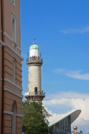 Warnemünde, Niemcy: Warnemuende_Leuchtturm