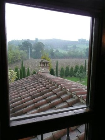 Molino di Foci: the view from our room