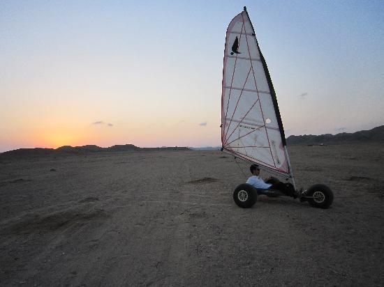 مرسى علم, مصر: Desert Sail
