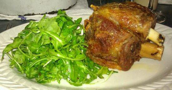 Joseph Leonard : Pork and salad .. what else do you need?
