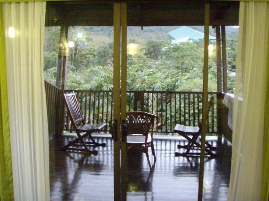 Сан-Карлос, Коста-Рика: Large Balcony