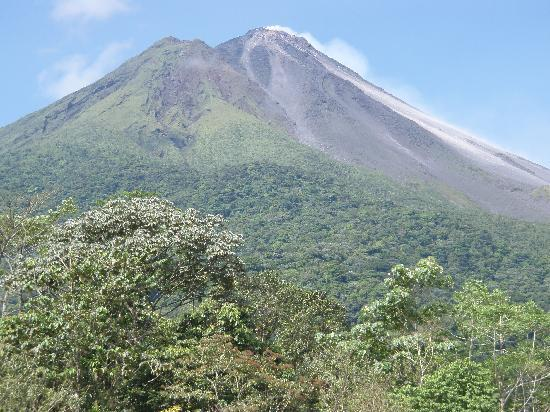 San Carlos, Costa Rica: View of volcano from the balcony
