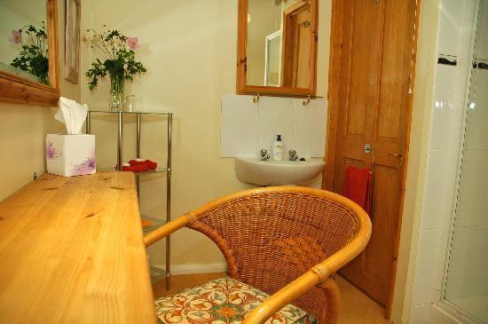 82 Fishbourne: En suite shower room detail