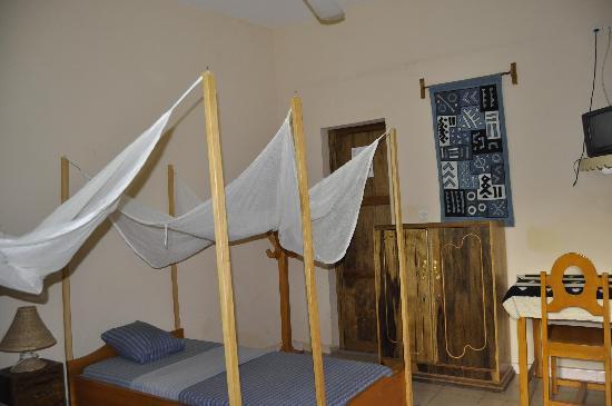 Bandiagara, Malí: Chambre ventilée. A room with ventilator