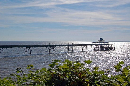 Portishead, UK: Cevedon Pier, close by