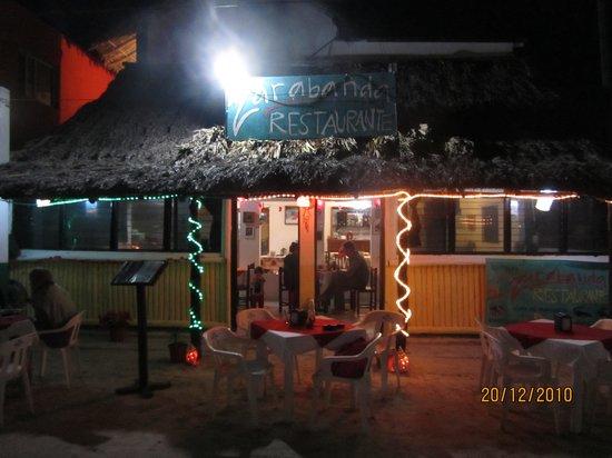 Zarabanda: NIght view of the restaurant