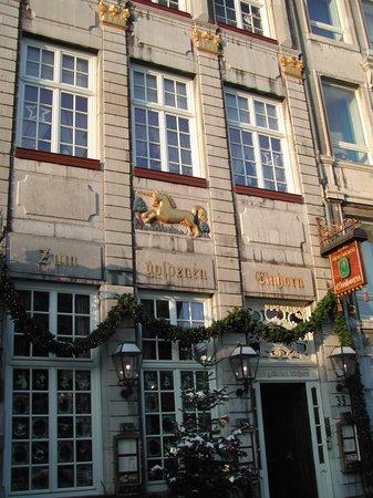 Zum goldenen Einhorn: Fassade