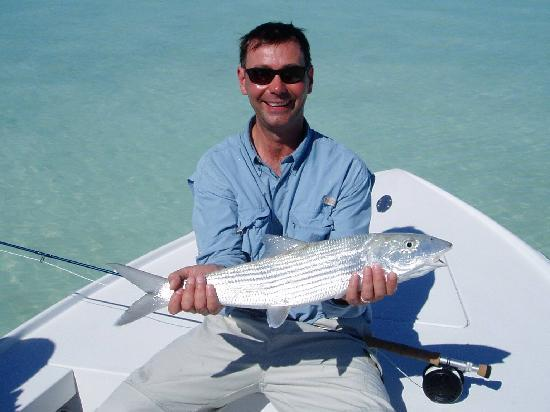 Swain's Cay Lodge: Big Bonefish!
