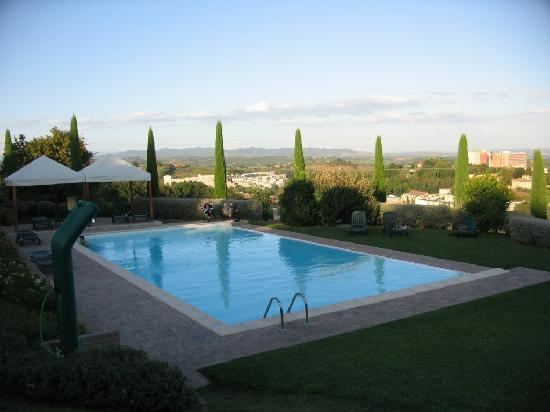 Pool In The Late Afternoon Picture Of Sangallo Park Hotel Siena Tripadvisor