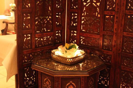 Kamasutra Indisches Restaurant: romantisches Ambiente