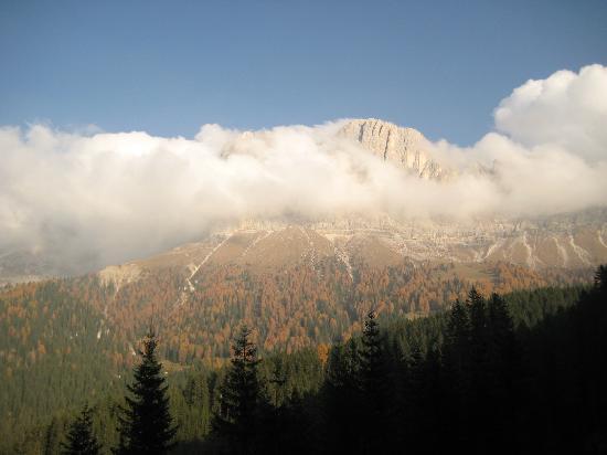 Eggental, Italien: Rosengarten in Wolken